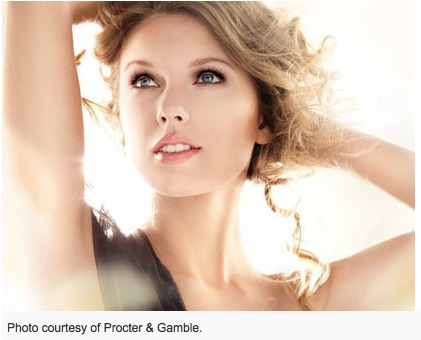 Photo of Taylor Swift for CoverGirl